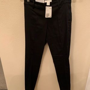 H&M High Rise Cropped black pants new with tag